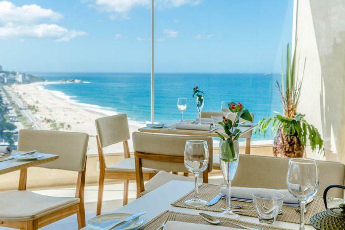 Espaço 7zero6 está localizado na cobertura do Praia Ipanema Hotel, na orla da zona sul do Rio. Foto: Divulgação/7zero6