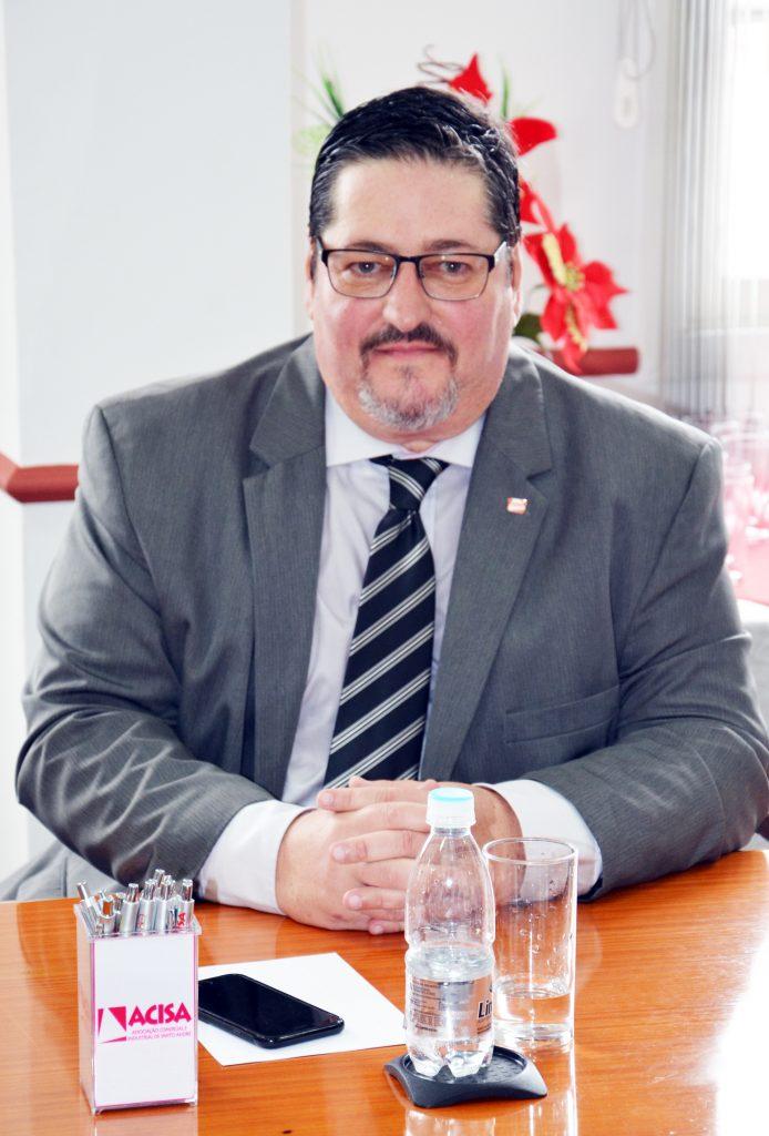 Pedro Cia Junior - Presidente da Acisa. Foto: Divulgação