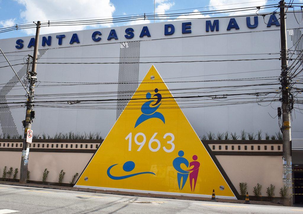 Santa Casa de Mauá. Foto: Divulgação