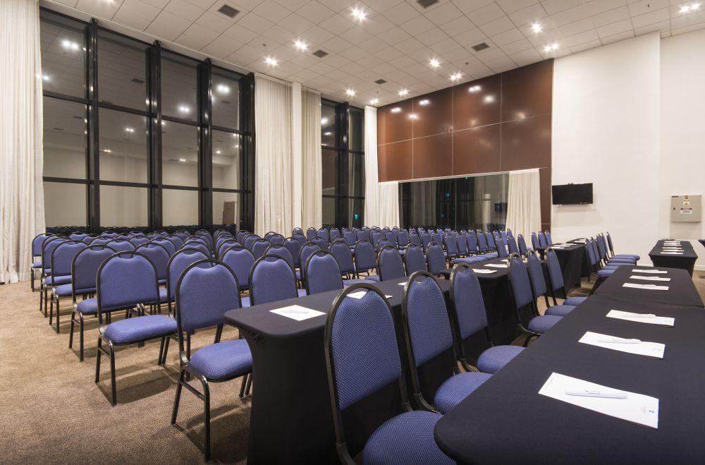 Auditório comporta até 72 pessoas. Foto: Divulgação