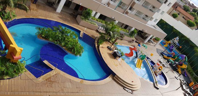 Resort localizado em Olímpia (SP) recebeu investimentos durante pandemia e oferece serviços que preservam o distanciamento social e contato mínimo. Foto: Divulgação