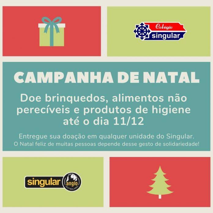 Campanha de Natal do Singular. Foto: Divulgação