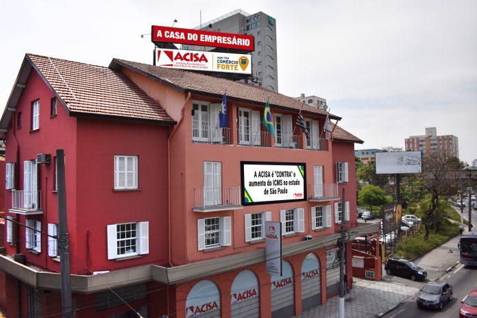 ACISA está localizada no centro de Santo André. Foto: Divulgação