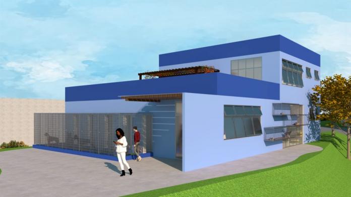 Projeto do Hospital Veterinário. Foto: Divulgação
