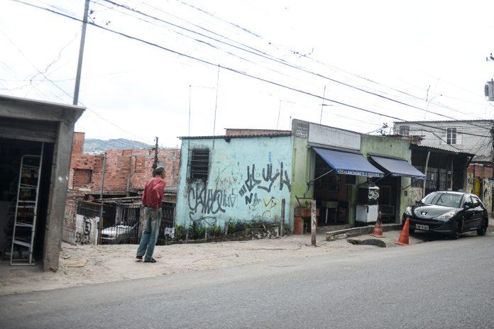 Ocupação da Estrada Poney Club. Foto: Omar Matsumoto/PMSBC