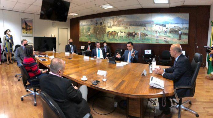 Entidade regional participou de reunião no Ministério da Economia de representantes do segmento com plantas instaladas na região. Foto: Washington Costa/Ministério da Economia