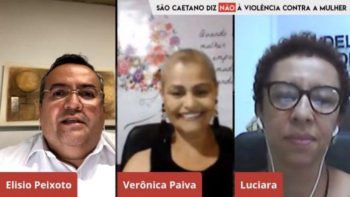 Participantes da Live. Foto: Divulgação/PMSCS