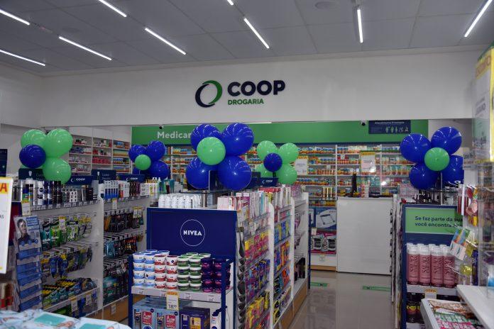 Drogaria COOP. Foto: Divulgação
