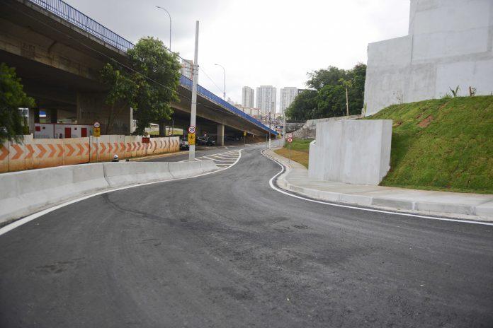 Novo acesso do Viaduto Tereza Delta. Foto: Ricardo Cassin/PMSBC