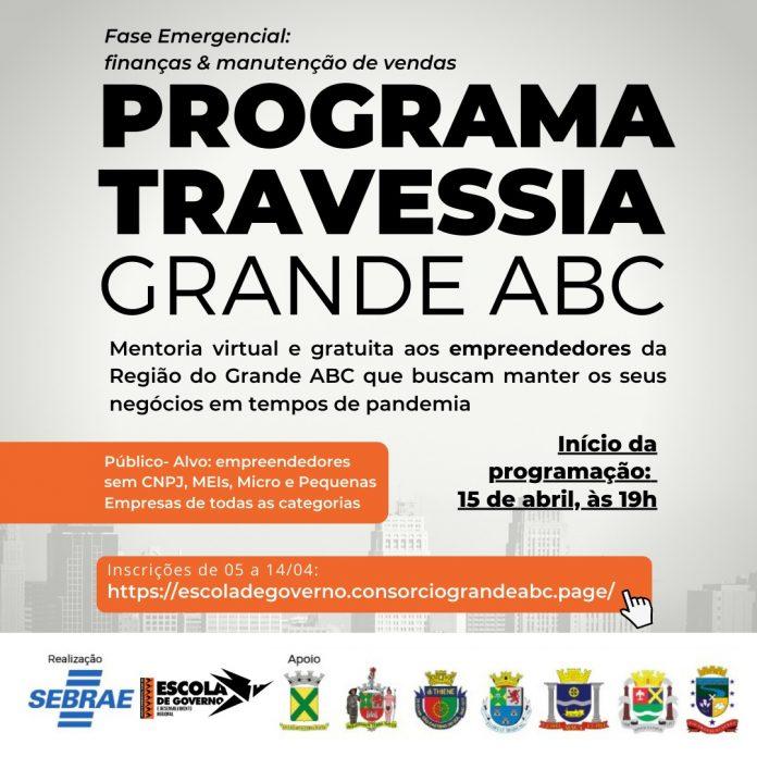 Nova fase do programa pretende alcançar mais de 500 empreendedores do Grande ABC. Foto: Dvulgação/Consórcio ABC