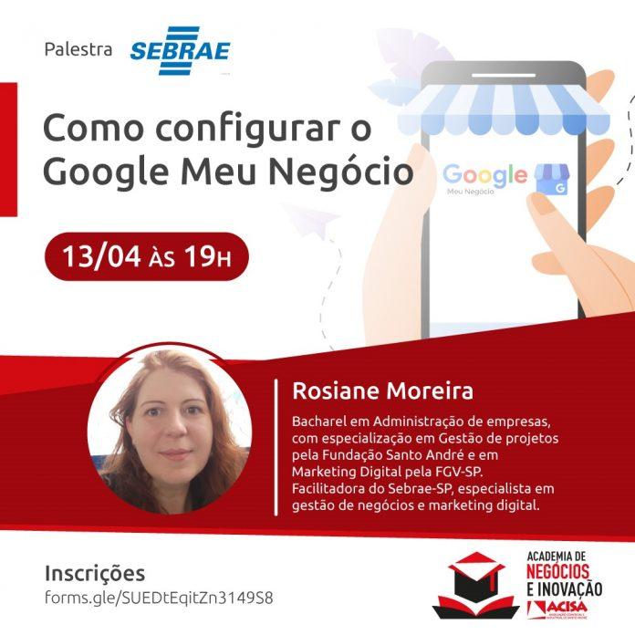 Evento acontece no próximo dia 13. Foto: Divulgação/ACISA
