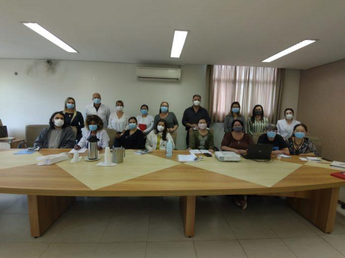Equipe técnica da Secretaria de Saúde de Ribeirão Pires. Foto: Divulgação/PMRP