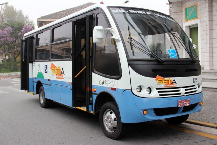 Veículo utilizado no serviço de transporte. Foto: Divulgação/PMRP