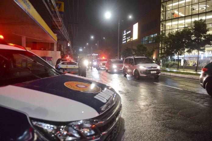 Cidade conta com blitz e fiscalização policial. Foto: Ricardo Cassin/PMSBC