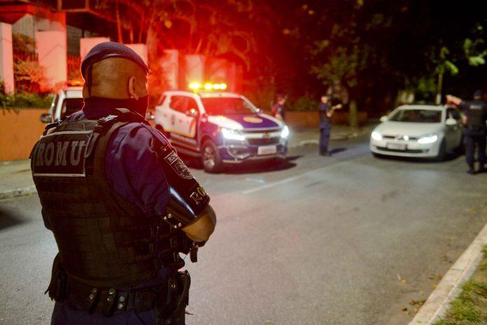 Operação Noite Tranquila tem apreendido criminosos e evitado aglomerações em São Bernardo. Foto: Ricardo Cassin/PMSBC