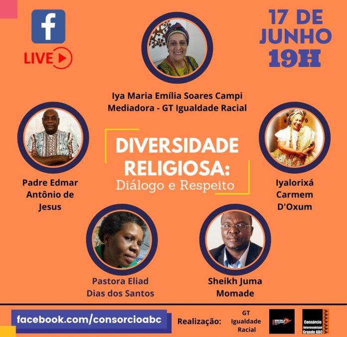 Evento será transmitido ao vivo na página da entidade regional no Facebook. Foto: Divulgação/Consórcio ABC
