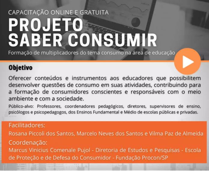 Iniciativa é desenvolvida em parceria com a Fundação Procon-SP. Foto: Divulgação/Consórcio ABC
