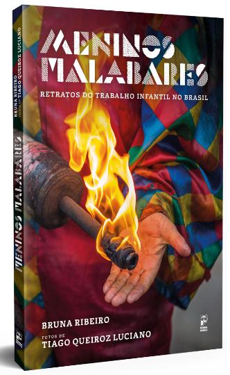Capa do livro Meninos Malabares – Retratos do Trabalho Infantil no Brasil. Foto: Divulgação