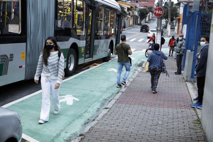 Faixas verdes irão facilitar a locomoção dos pedestres Foto: Divulgação/PMD