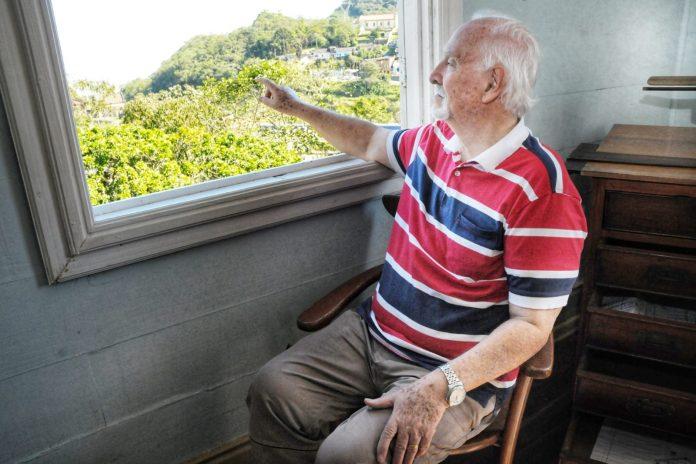 Durval Silva é bisneto do engenheiro-chefe da ferrovia Frederic Mens. Foto: Angelo Baima/PSA