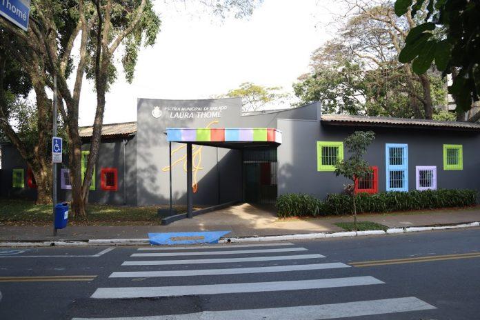 Escola de Bailado 'Laura Thomé' foi revitalizada. Foto: Regina Maria/Secult PMSCS