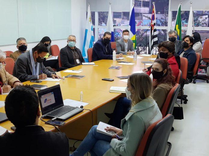 Reunião do GT Desenvolvimento Econômico trouxe balanço de atividades realizadas no primeiro semestre. Foto: Divulgação/Consórcio ABC
