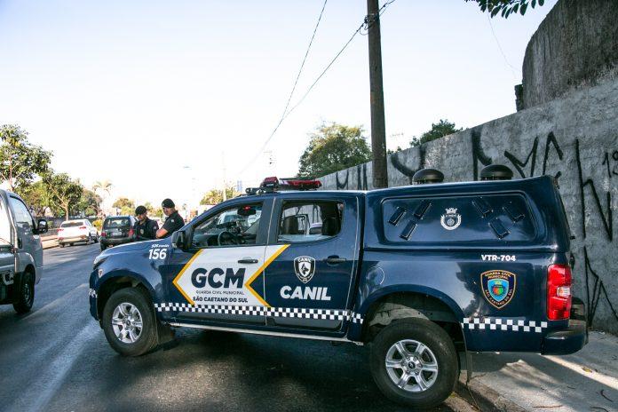GCM de São Caetano do Sul. Foto: Eric Romero/PMSCS