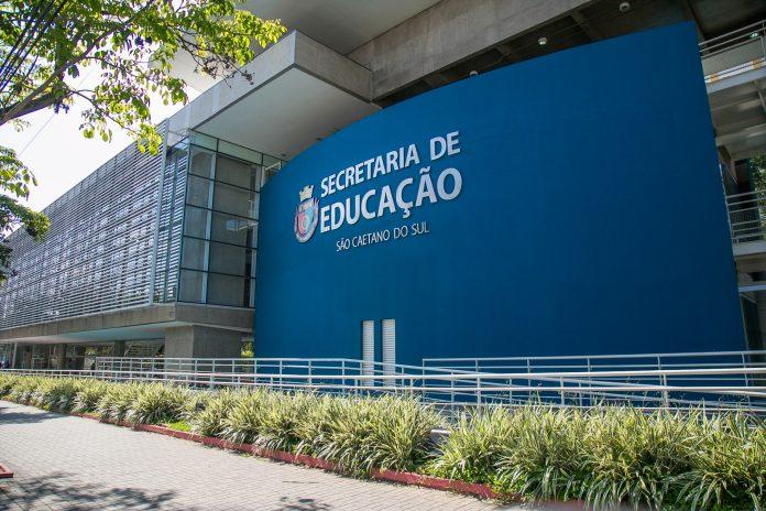 Secretaria Municipal de Educação. Foto: Letícia Teixeira/ PMSCS
