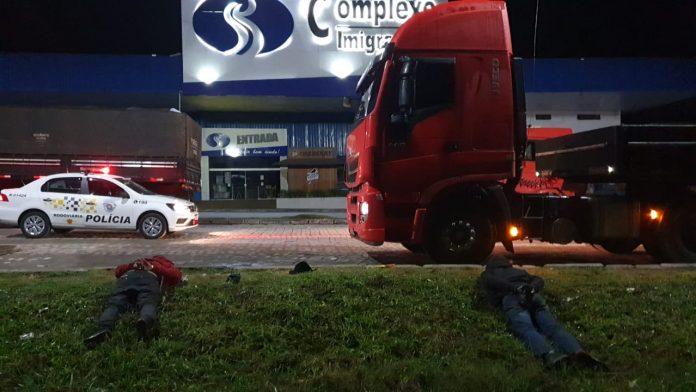 Flagrante aconteceu na Rodovia dos Imigrantes Km 35 Pista Sul. Foto: Divulgação