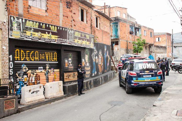 Ambos comércios já haviam sido alvos da Operação Noite Tranquila por promoverem festas irregulares. Foto: Divulgação/PMSBC
