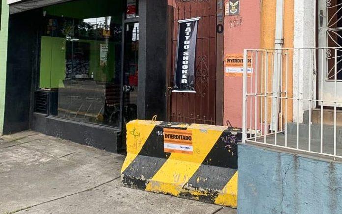 Local funcionava sem alvará e registrava reclamações da vizinhança por barulho excessivo e desrespeito às recomendações para o combate à Covid-19. Foto: Divulgação/PSA