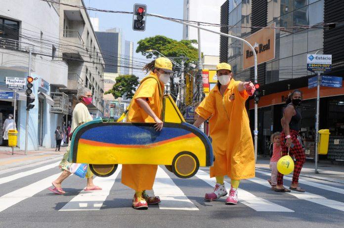 Ação faz parte do calendário de atividades do Mês da Mobilidade e da Semana Nacional do Trânsito. Foto: Angelo Baima/PSA